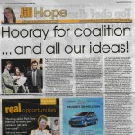 Chronicle & Echo 26 August 2010